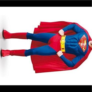 Other - Deluxe muscle chest men's Superman costume